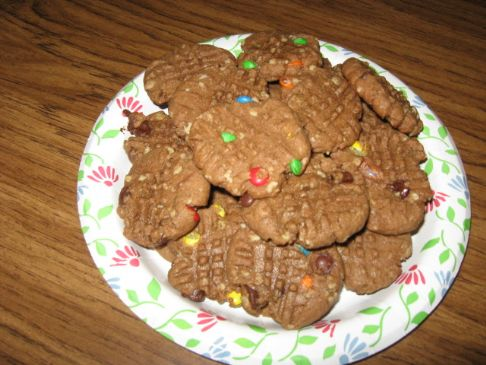 Cocoa-y monsterish cookies