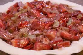 Deep Dish Strawberry Rhubarb Pie