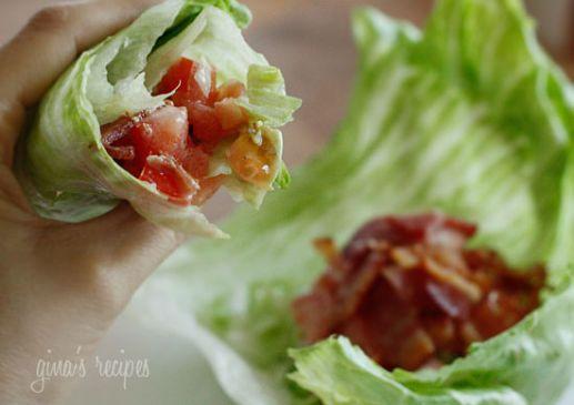 BLT Lettuce Wraps (Skinny Taste)