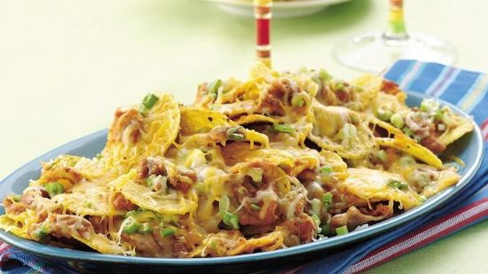 Bean and Cheese Nachos