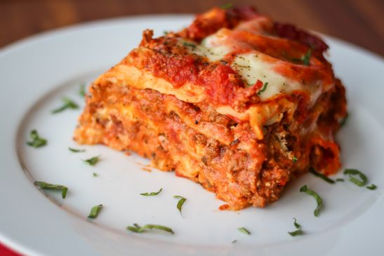 Crock Pot Meat Lasagna