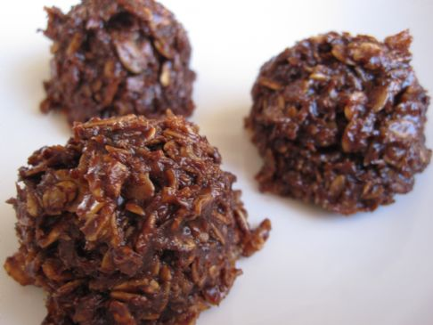 Chocolate Oatmeal Macaroons Recipe