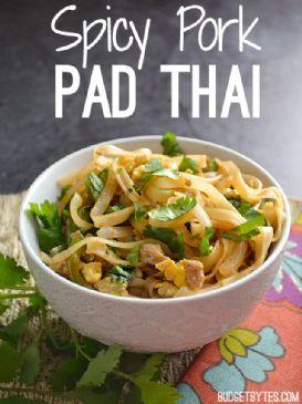 Spicy Pork Pad Thai