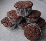Mini Mint Chocolate Brownie Cupcakes (Eggless)