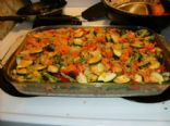 Brown Rice and Vegetable Casserole