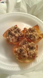 Breakfast Sausage Tartlets