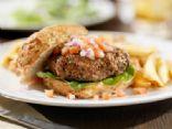 Ranch Cheddar Turkey Burgers