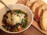 Beans, Greens, and Quinoa Soup