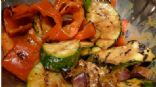 Grilled Vegetables with Peanut Sauce