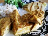 Tofu with Spicy Pinapple and Peanut Butter Sauce