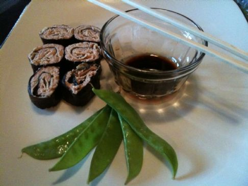 Riceless Sushi Rolls Recipe | SparkRecipes