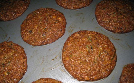 heart healthy zucchini muffins