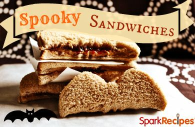 Spooky Sandwiches