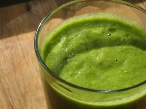Collard Green Mango Smoothie
