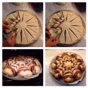 Braided (sugar free) Chocolate Hazelnut Bread