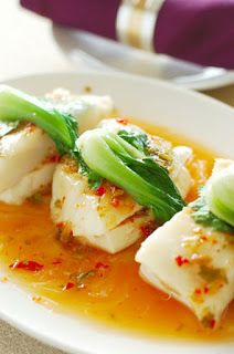 Chili Soy Sauce Steamed Fish