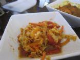 Curry Cabbage Chicken