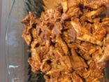 Pulled Pork from Pork Tenderloin (less caloric!)