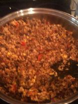 Ground Bison Rice Chili