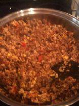 Ground Bison Rice Chili