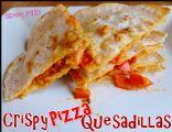 Crispy Pizza Quesadilla