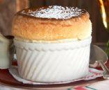 Classic Chocolate Truffle Souffle Cake