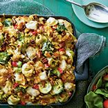 Pasta-Chicken-Broccoli Bake