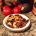 mixed nuts fruit and dark chocolate (325 g total)