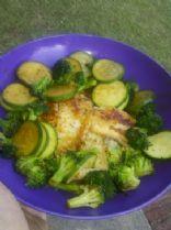 Hoisin Glazed Tilapia and Vegetables