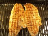 Blackened Walleye Grilled