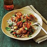 Bombay Shrimp Curry w/ Coconut Rice (CL 7/11)