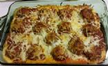 Reduced Fat Meatball Sub Casserole