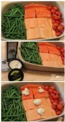 Roasted Salmon and Veggies