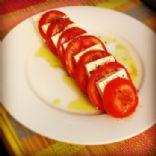 Tomato Tofu Basil Salad