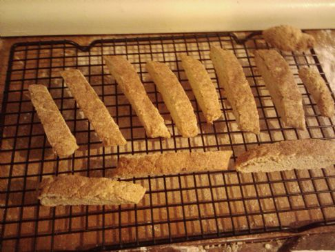 Cinnamon and Sugar Biscotti