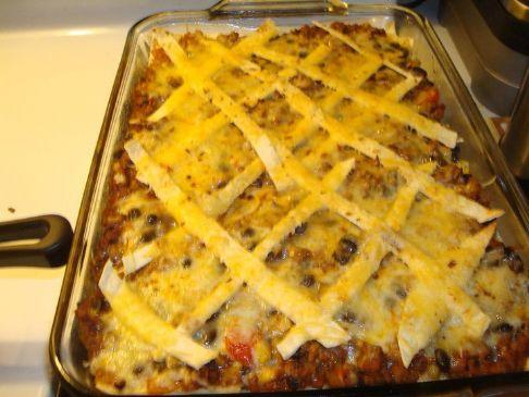 Quesadilla Casserole Recipes | SparkRecipes