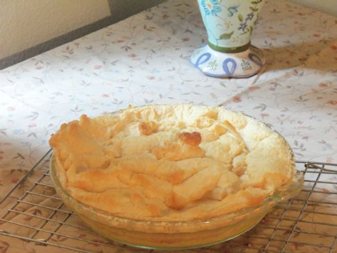 Almost Lemon Meringue Pie