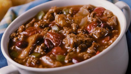 Easy Ground Turkey Chili