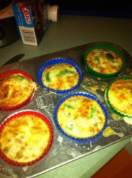 Vegetarian Egg Muffins