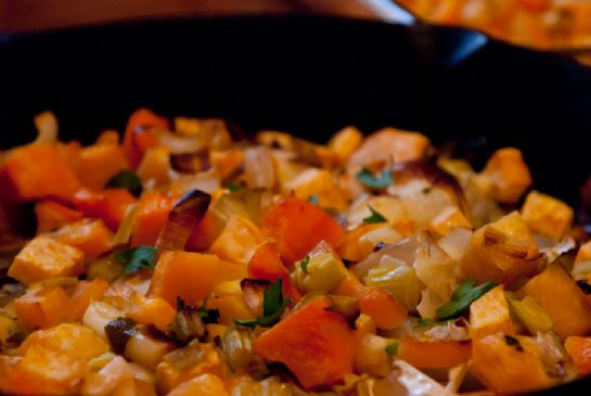 Vegan To Share Roasted winter veggies