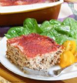 turkey/quinoa meatloaf