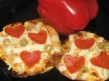 Cauli Pepperoni Pizza