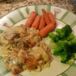 Aunt Patsy's Chicken Tettrazini with home canned chicken