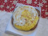 Open face Egg Sandwich