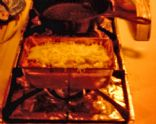 Vegetarian Tamale Pie for Two
