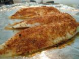 Baked Tilapia with Spicy Cajun Rice