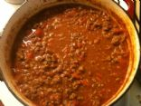 Paige's Low Carb Chilli