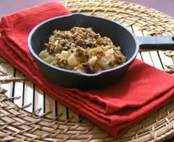 Caramel Apple & Pear Crumble