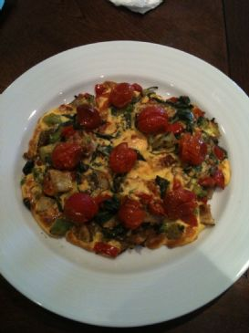 Parmesan Frittata (from Mark Bittman's