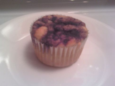 Protein Packed Blueberry Muffin